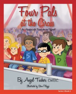 Four Pals at the Circus Cover